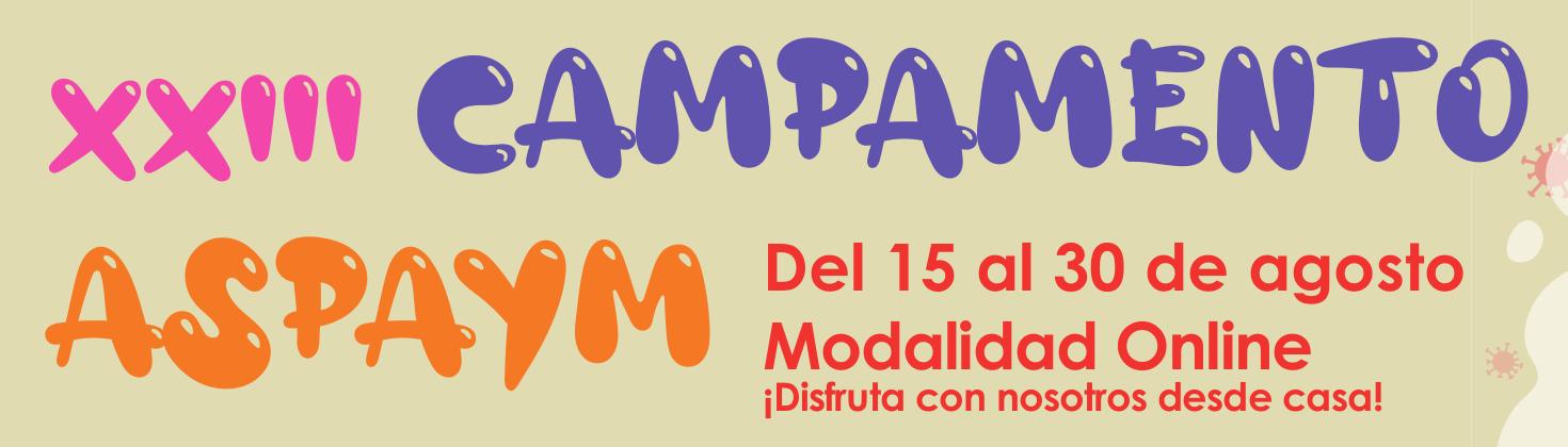Campamento Aspaym 2020